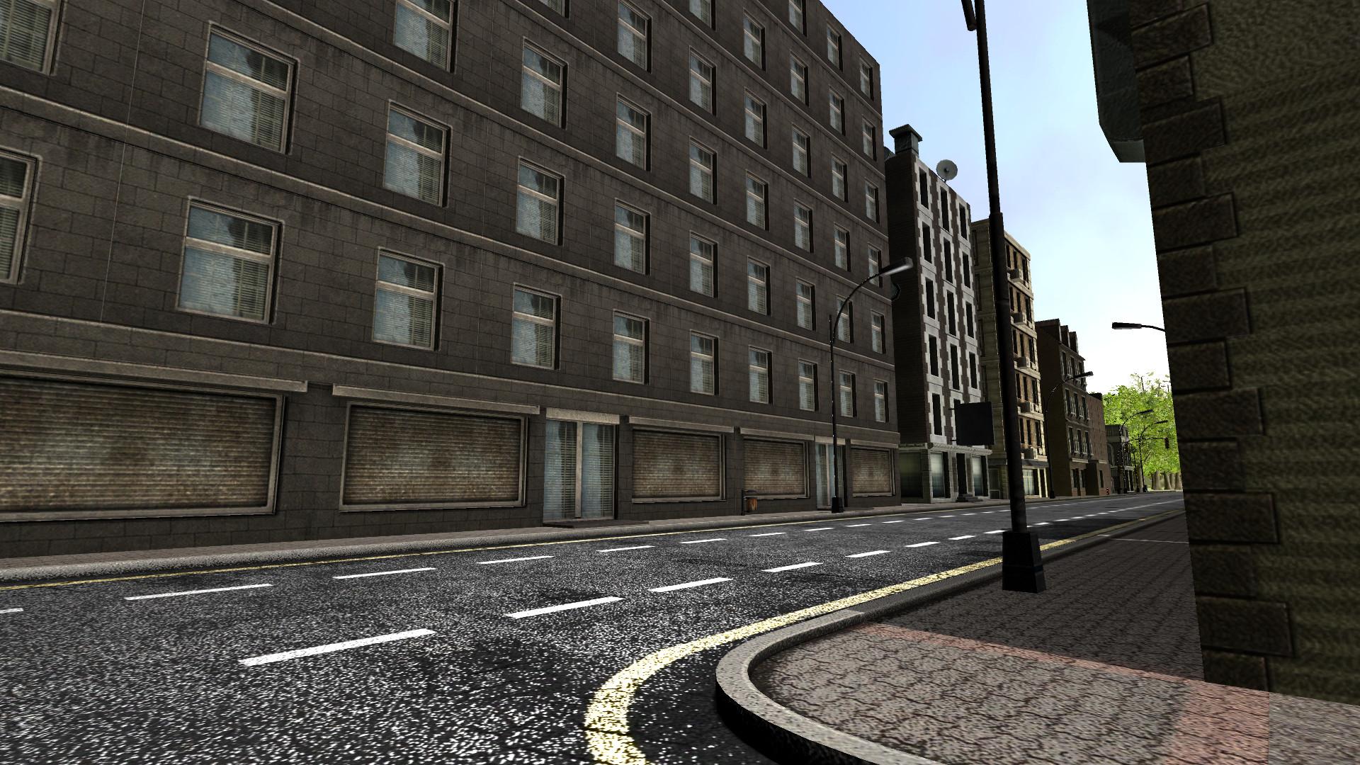 Una imagen del Walking Simulator