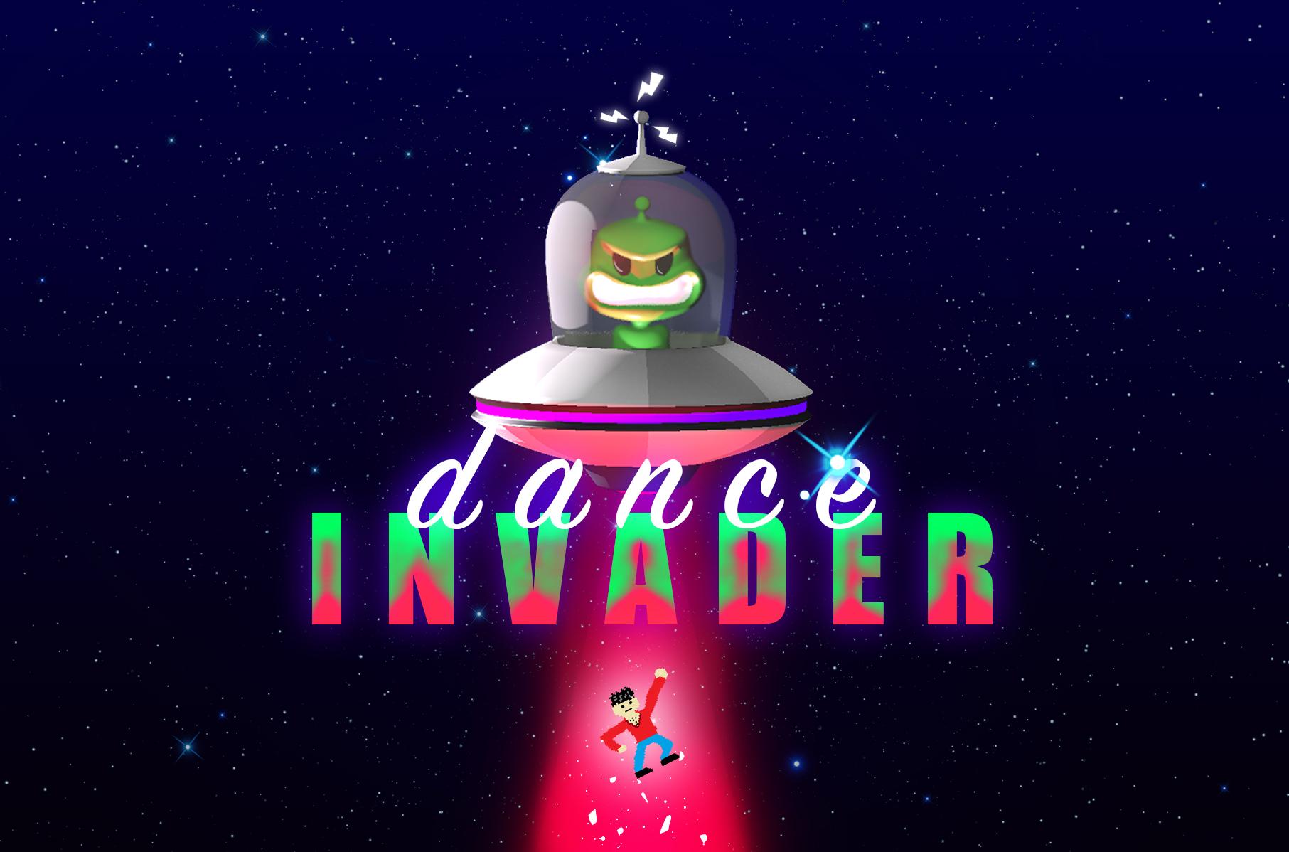 Logo alternativo de Dance Invader